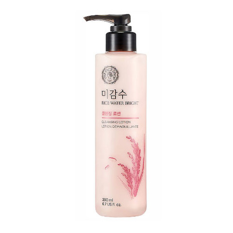 Лосьон THE FACE SHOP Rice Water Bright Cleansing Lotion 200ml