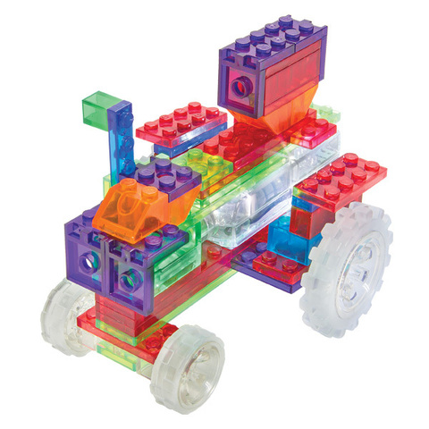 Конструктор Laser Pegs «Трактор» 6 в 1 (ZD120B)