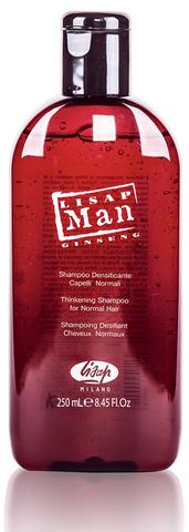Укрепляющий шампунь для нормальных волос для мужчин «Lisap Man Densifying  Shampoo for Normal Hair»