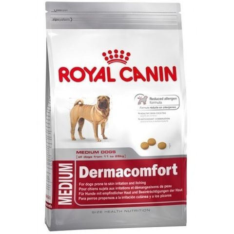 Корм для собак Royal Canin Medium Dermacomfort 10 кг