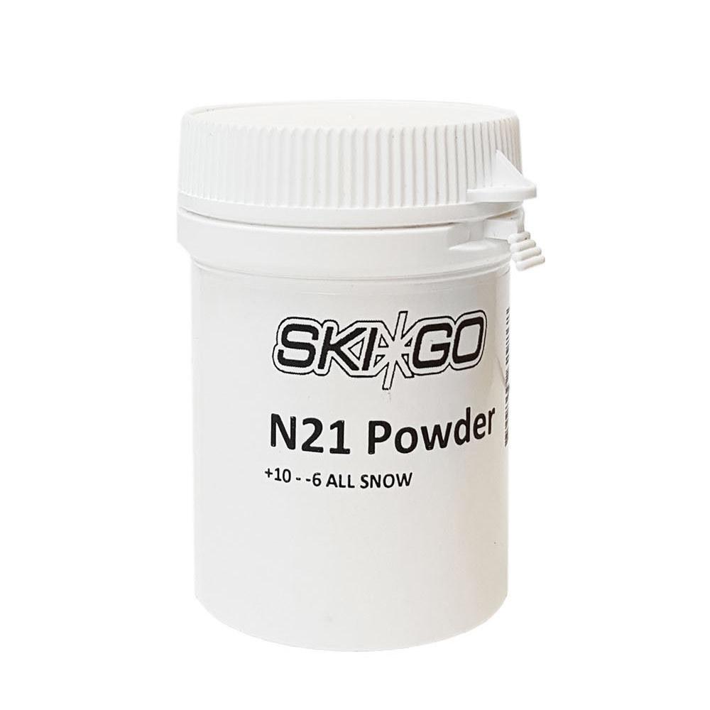 Фтористый порошок ускоритель Skigo N21 (для всех типов снега) (+10°С -6°С) 30 гр