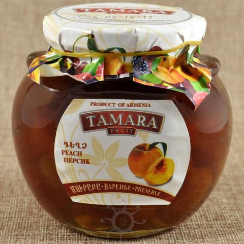 Джем из персиков Тамара, 400г