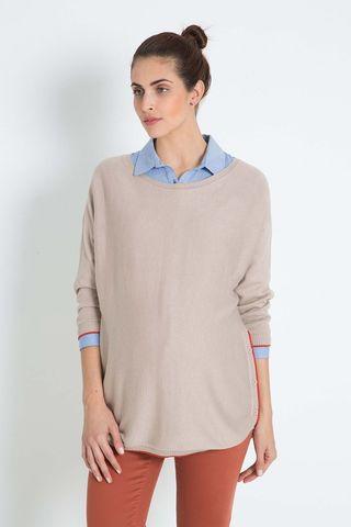 Блуза 07943 карамель