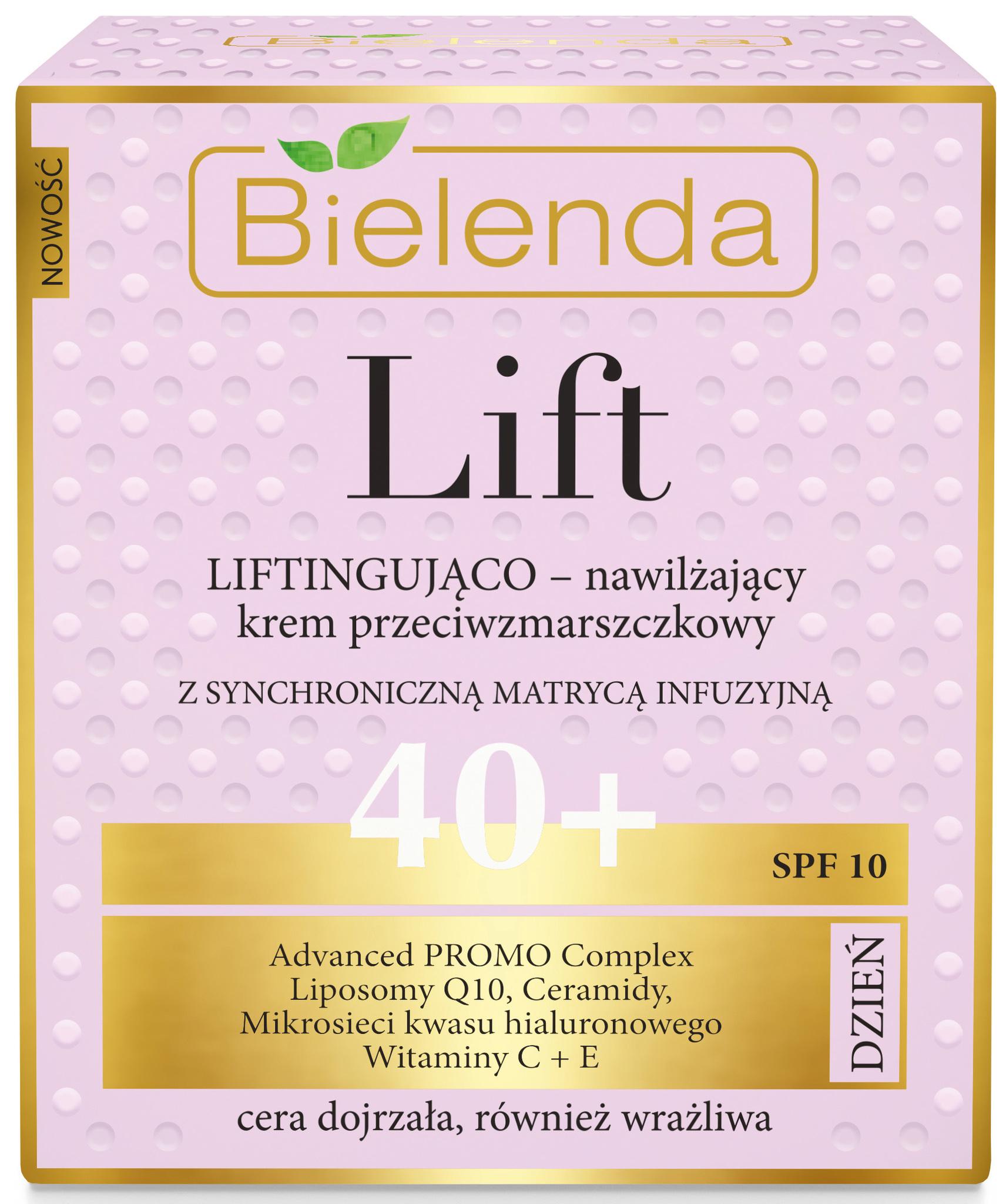 LIFT Увлажняющий лифтинг крем против морщин 40+ дневной, 50 мл