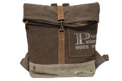Рюкзак Secret De Maison PATIENCE ( mod. M-11357 ) — хаки (ткань: винтаж)