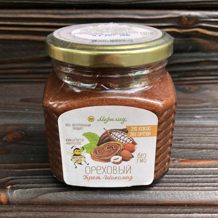 Фотография Урбеч крем-шоколад ореховый, 230 г купить в магазине Афлора