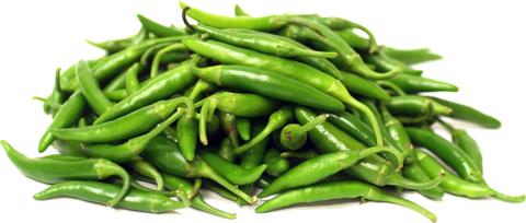 Перец Чили Зелёный Мини, 100 г