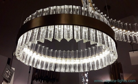 replica Saturno LED Pendant by Baroncelli 50 cm