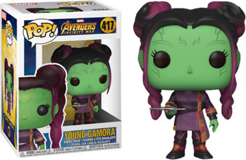 Фигурка Funko POP! Bobble: Marvel: Avengers Infinity War S2: Young Gamora w/ Dagg 35774