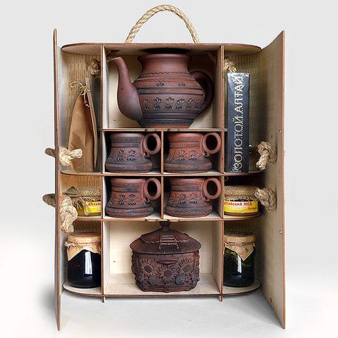 "Набор ""Чайная церемония"" (керамика + дары Алтая)"