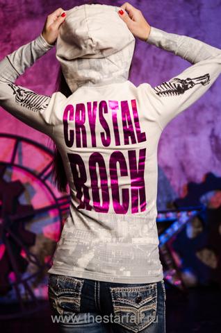 Толстовка Crystal Rock