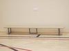 Скамейка гимнастическая на металлических ножках 2.5м (массив дерева).