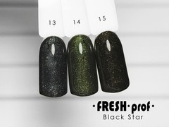 Гель лак Fresh Prof Black Star 10мл №12