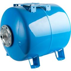 Расширительный бак, гидроаккумулятор 300 л. горизонтальный (цвет синий) Stout