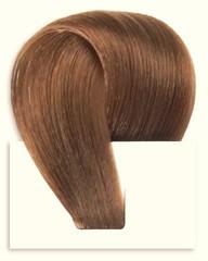 Набор мега 9 прядей,цвет  #7-светлый коричнево-золотистый-Вес набора 150 грамм