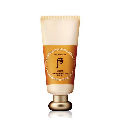 The History of Whoo Gongjinhyang Moisture (Jin Hae Yoon) Sun Cream (SPF50+/PA+++), 60 мл