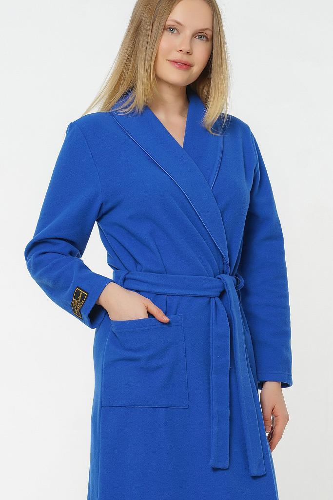 Теплый халат из шерсти с кашемиром B&B