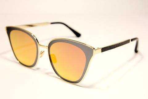 Солнцезащитные очки 42001s Оранжевый
