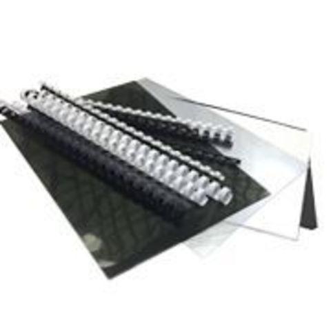 Стартовый набор для переплета Office Kit - 20 обложек + 10 пружин  Набор пластиковых и картонных обложек + пластиковые пружины