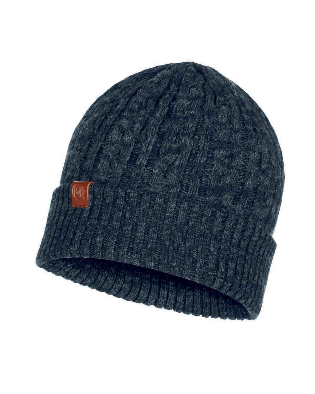 Вязаная шапка Buff Hat Knitted Braidy Black