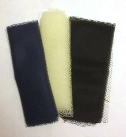 Вуаль сетка для шляп, ширина  45 см (выбрать цвет)