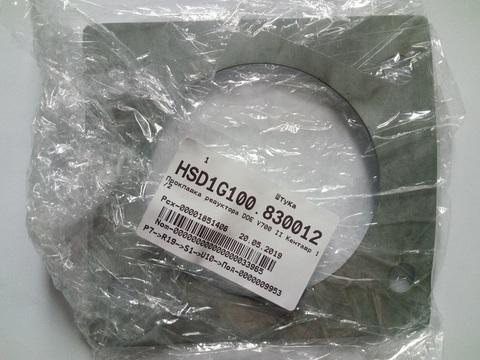 Прокладка редуктора DDE V700 II Кентавр 1/2