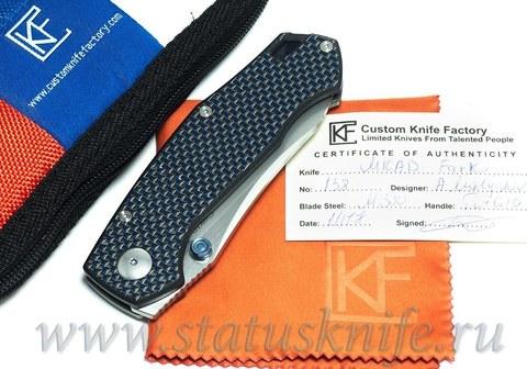 Нож CKF FARKO MKAD Blue (M390, G10)