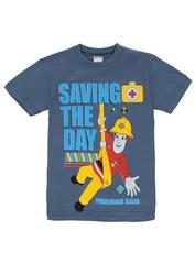 1178-13 футболка детская, синяя