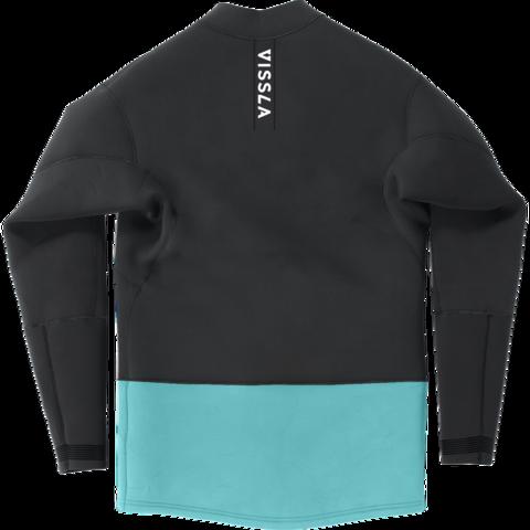Гидромайка мужская VISSLA 2mm Front Zip Jacket