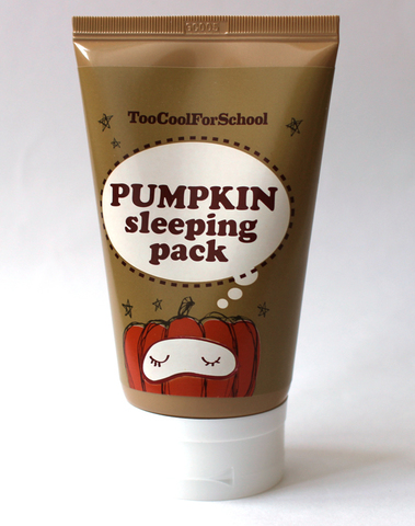 Ночная маска Pumpkin Sleeping Pack от Too Cool For School