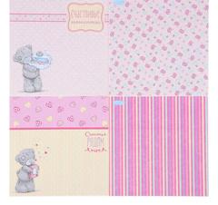 Набор бумаги для скрапбукинга Me to you 15,5*15,5 см 12 листов 180 гр/м.