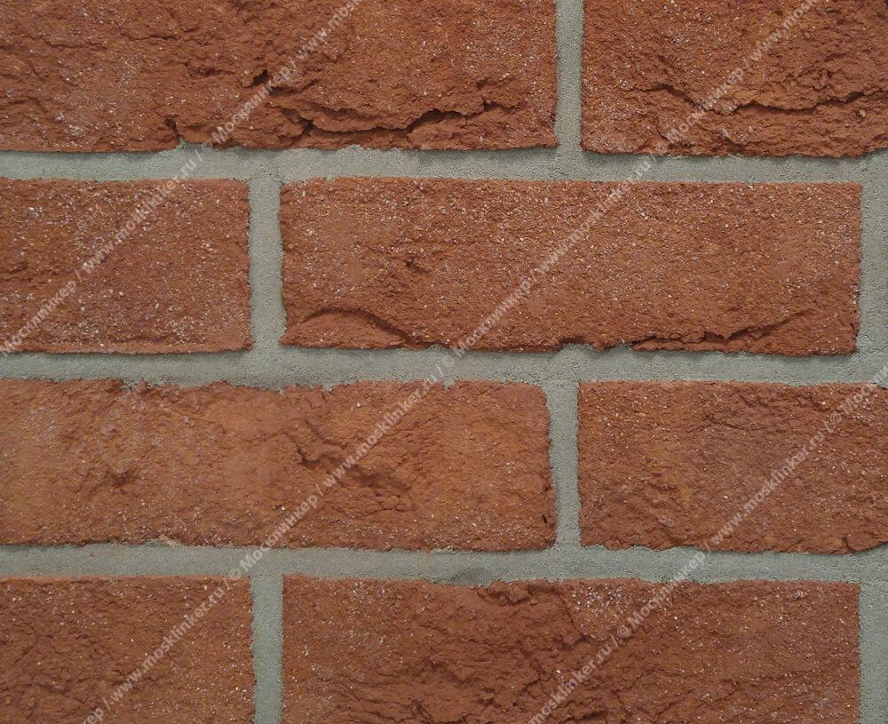Roben, облицовочная клинкерная плитка под старину, Formback, красно-коричневый (rot-braun), NF