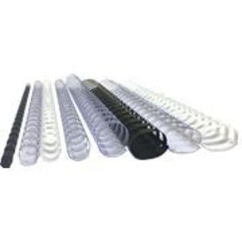 Стартовый набор пружин для переплета Office Kit - Пластиковые пружины различных размеров 55 шт. в упаковке.