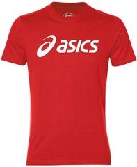 Футболка беговая Asics Big Logo Tee Red мужская