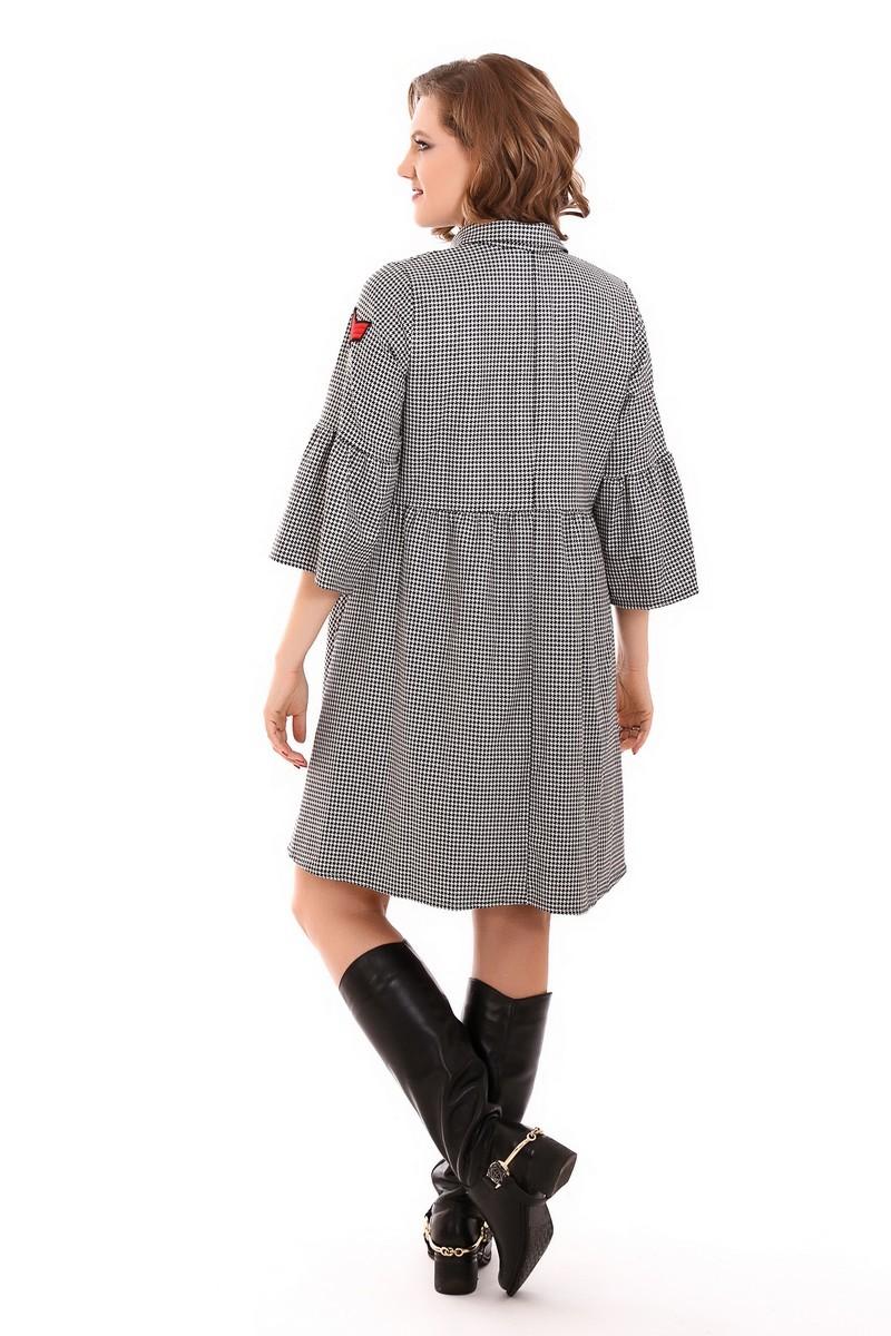 Платье 09213 черный
