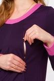 Платье 07963 фиолетовый