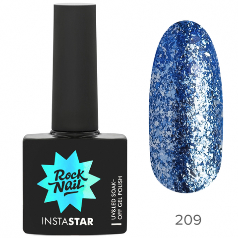 Гель-лак RockNail Insta Star 209 Miley