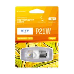 Светодиодная автолампа MTF Light серия Night Assistant 12В, 2.5Вт, P21/5W