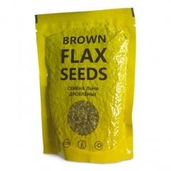 Семена льна дробленые, 120 гр. (Компас здоровья)