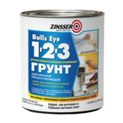 Bulls eye 123 Primer грунт универсальный пятноустраняющий на акриловой основе