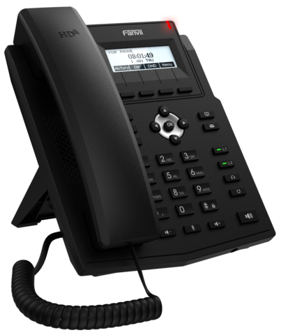 Fanvil X1S - Business SIP Phone (без POE) - IP телефон.