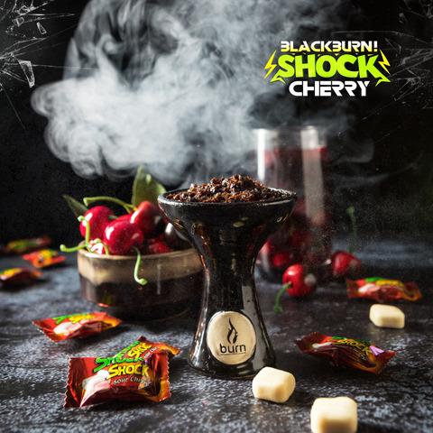 Табак Burn Black Cherry Shock (Кислая Вишня) 100 г