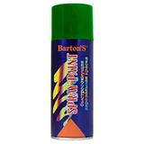 Краска аэрозольная Barton's Spray Paint ЗЕЛЕНАЯ глянец RAL6002 520 мл (16шт/кор)