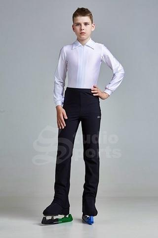 Рубашка-боди для мальчиков (белая)
