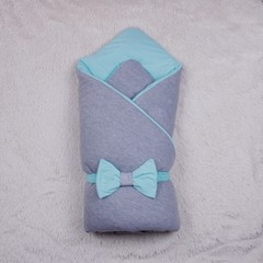 Демисезонный конверт одеяло  Mini (ментол)