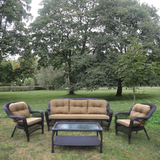 Комплект плетеной мебели LV216 Brown/Beige