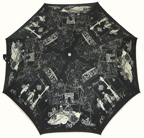 Зонт складной Guy de Jean 3405-15 Lux Champs Elysees