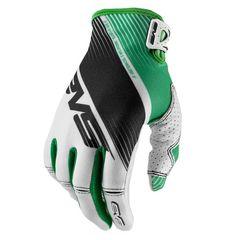 Перчатки EVS PRO Vapor White Black Green L (10)