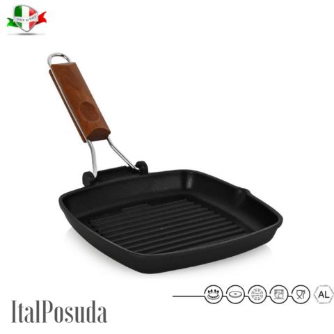 Сковорода Гриль RISOLI Saporella 20x20 см