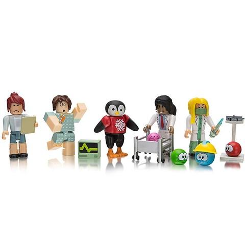 Роблокс Больница МипСити набор из 5 фигурок